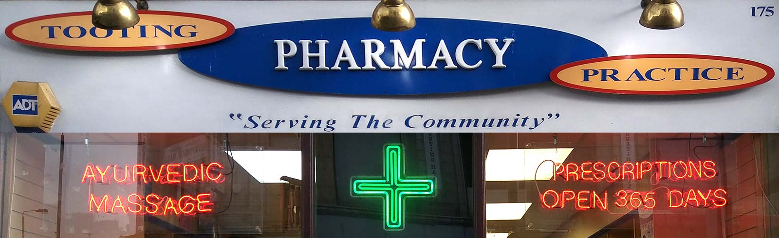 Tooting pharmacy outside